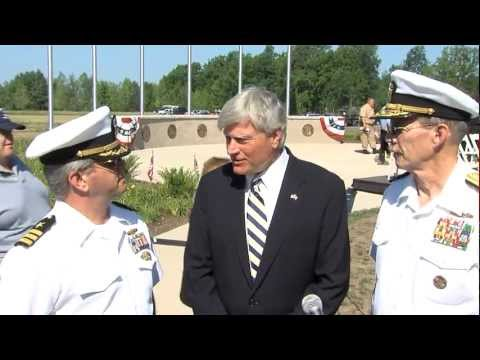 NYS Senator Nozzolio - Sampson Veterans Cemetery Dedication