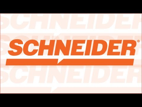 High Quality Trucks + High Quality Drivers - Schneider