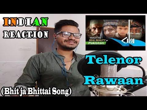 Indian Reaction On Telenor Rawaan Song Bhit Ja Bhittai | Reacted By Krishna