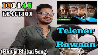 Indian Reaction On Telenor Rawaan Song Bhit ja Bhittai | Reacted By Krishna