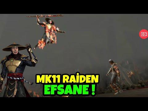 MK11 RAİDEN OYNANIŞ🔥😱 ! | YOK BÖYLE BİR KARAKTER | MK MOBİLE