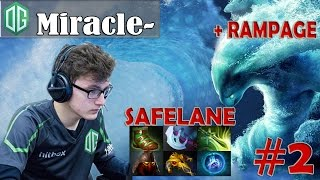 Miracle- Morphling Safelane Pro Gameplay | with RAMPAGE | Dota 2 MMR #2