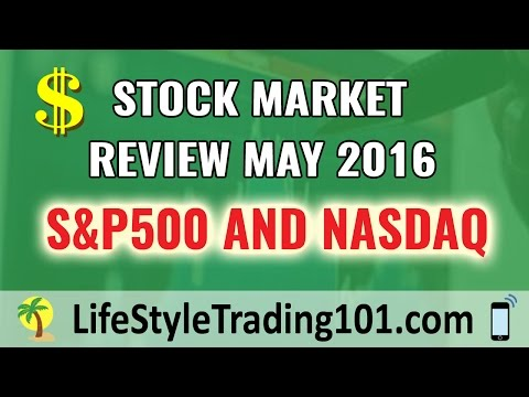 Stock Market Review of S&P500 and Nasdaq for May 2016