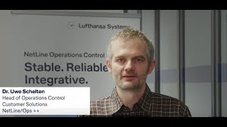 From airliner to airliner - Dr Uwe Schelten / Lufthansa Systems / Lufthansa Systems