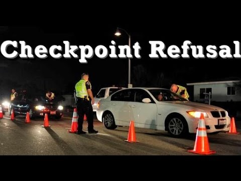 Police State? - Illegal Checkpoint Refusal - Police the Police