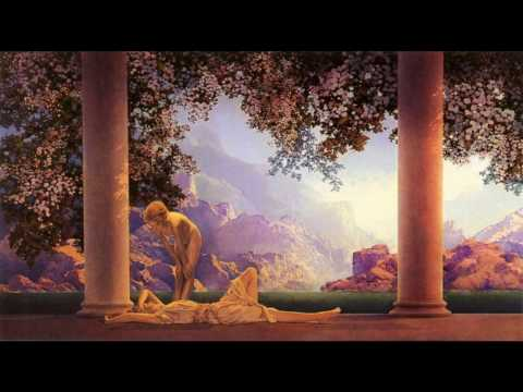Dj W -  History of House music. Paintings by Maxfield Parrish