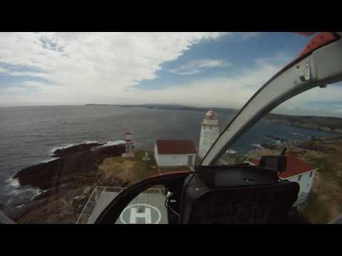 In the Cockpit, Canadian East Coast.