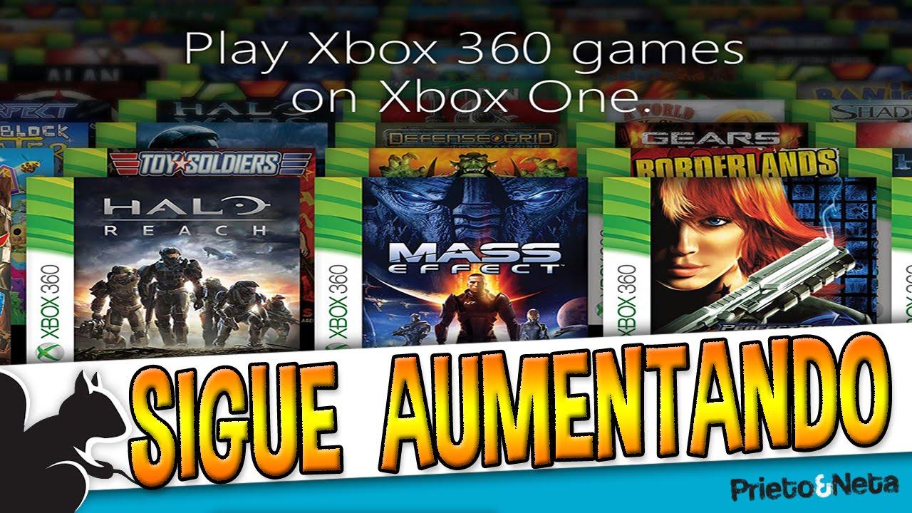 Gran Trabajo La Lista De Retrocompatibles Para Xbox One Sigue