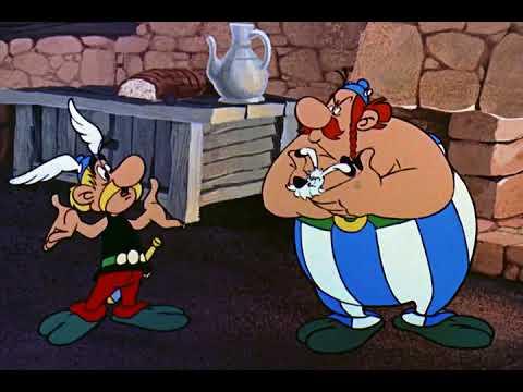 Asterix og Kleopatra   Dansk 1968