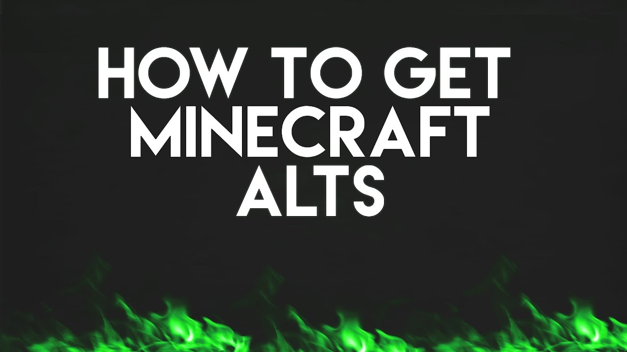 How To Get Free Minecraft Accounts Full Acces Gomme Youtube