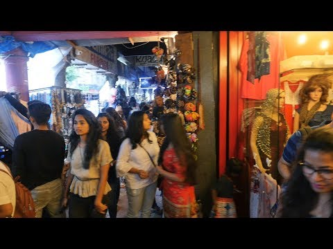 Mumbai Colaba Causeway Shopping Place in Mumbai Best Place for Women,ladies,girls shopping items