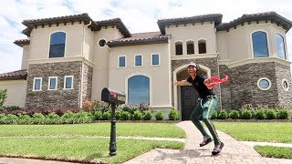 SURPRISING GIRLFRIEND WITH DREAM HOUSE PRANK!!!...