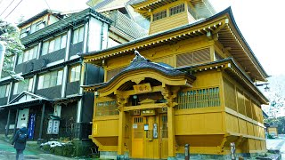 Japan Travel: 2020 Walking Nozawa Onsen Hot Spring, Famous hot springs and ski resorts - #野沢温泉