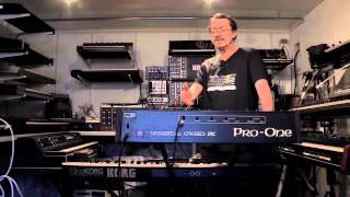 KORG KingKORG : Filtre P5 vs PROPHET 5 / Pro One par Olivier Briand (La Boite Noire)