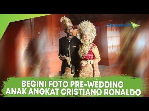 Pre-Wedding Anak Angkat Cristiano Ronaldo, Martunis Bersama Kekasihnya Sri Wahyuni