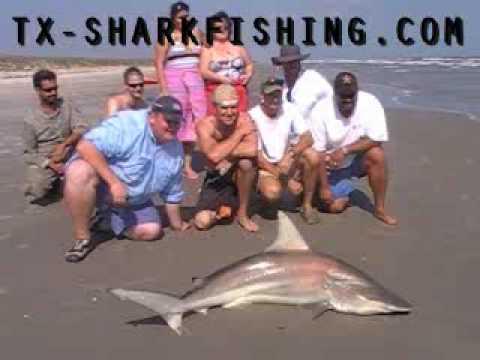 SHARK FISHING TEXAS SURF