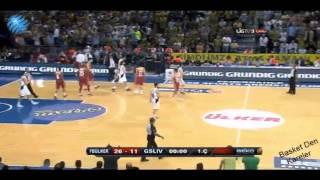 Fenerbahçe ülker  Galatasaray Liv Hospital 76-63  (3-2) Final Maçı özet izle (SON MAç)