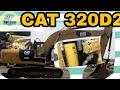 EXCAVATOR CAT 320D2 KA ENGINE OIL SERVICE, TRACK & SWING MOTOR KA OIL CHANGE KAISE KAREIN