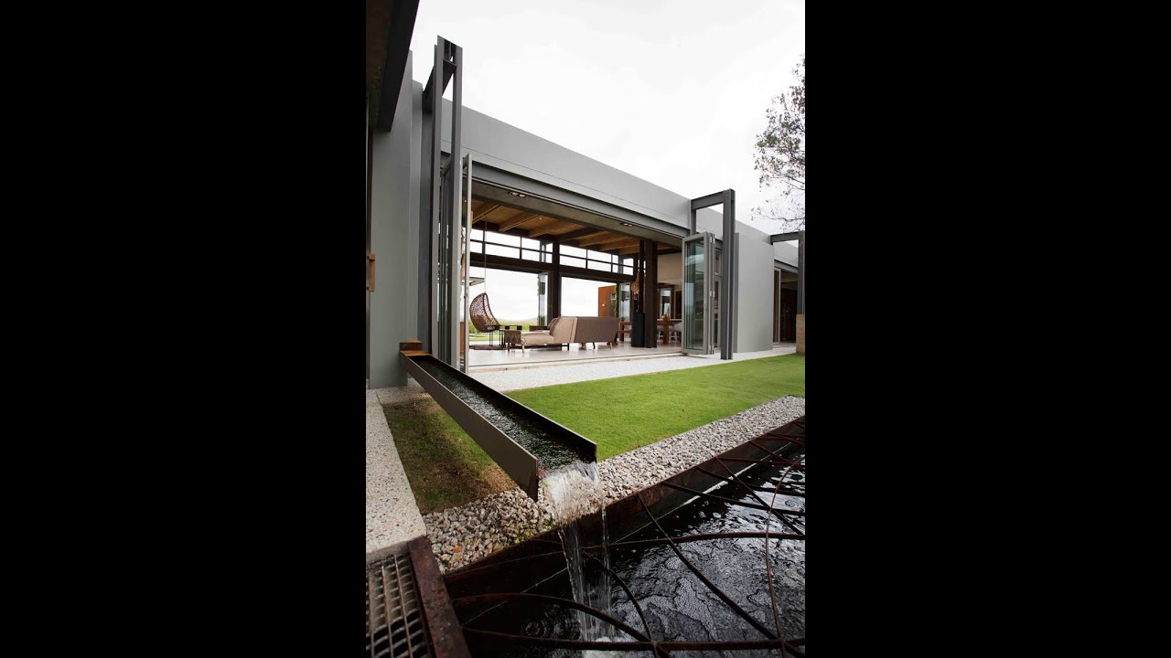 modern sustainable home in south africa - architect gillian holl's