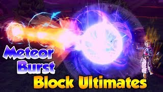 Which Ultimates can Meteor Burst Block? - Dragon Ball Xenoverse 2