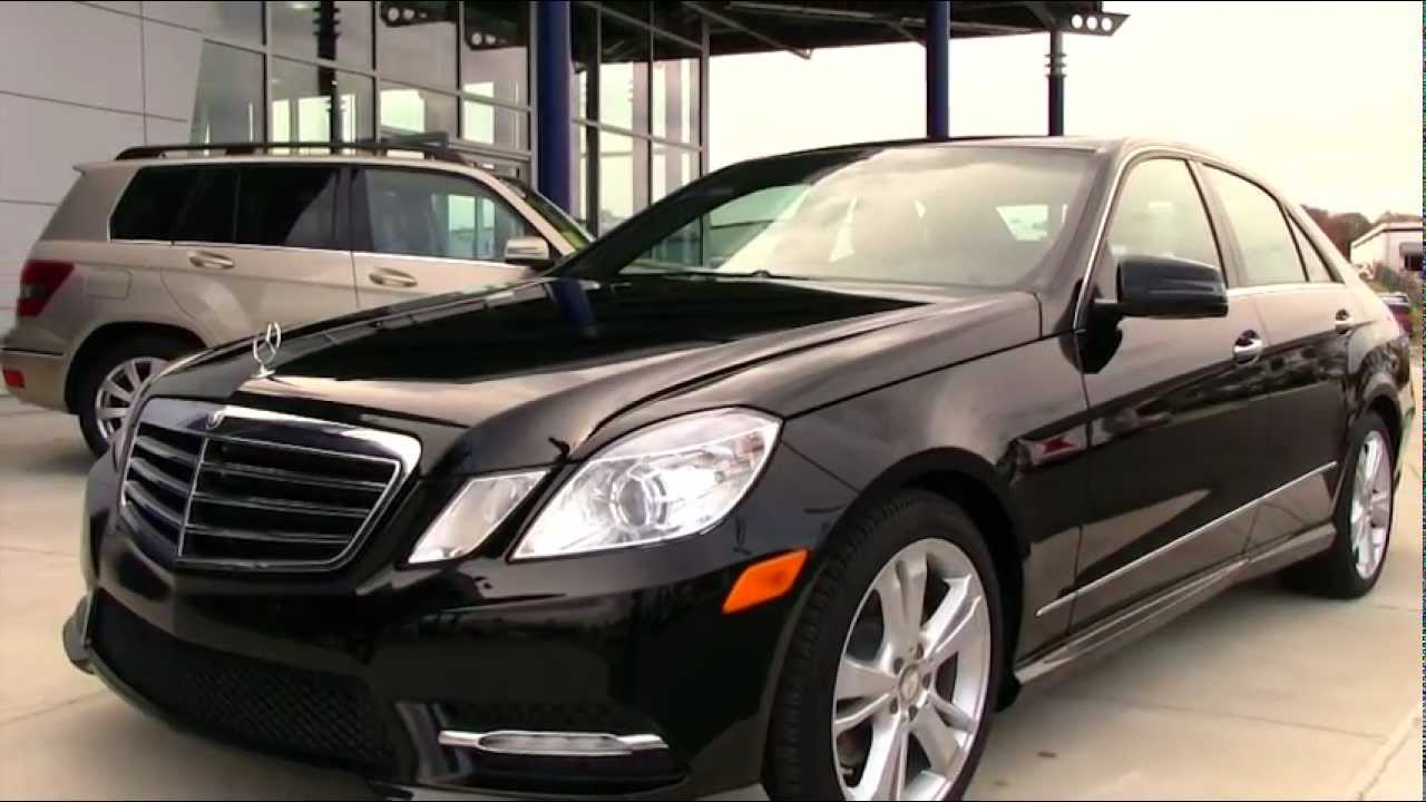 New 2013 Mercedes Benz E350 4matic Sedan Video At Mercedes