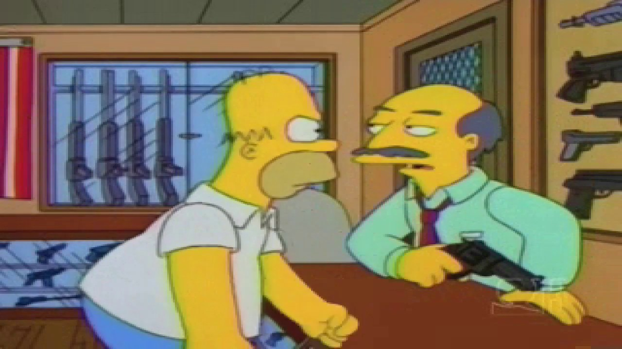 Homer Simpson If You Dont Have A Gun The King Of England