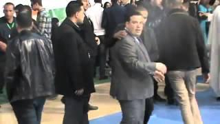 التجمع الشباني و الطلابي للمنظمة الوطنية للطلبة الجزائريين بالقاعة المتعددة الرياضات باسطاوالي02