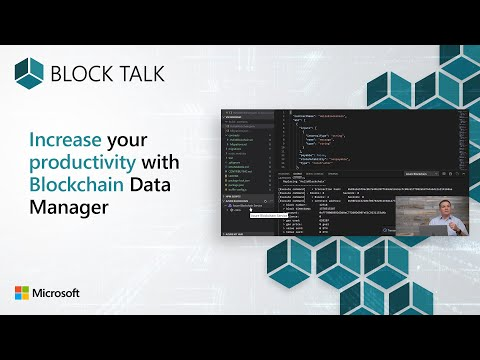 Increase your productivity with blockchain data manager