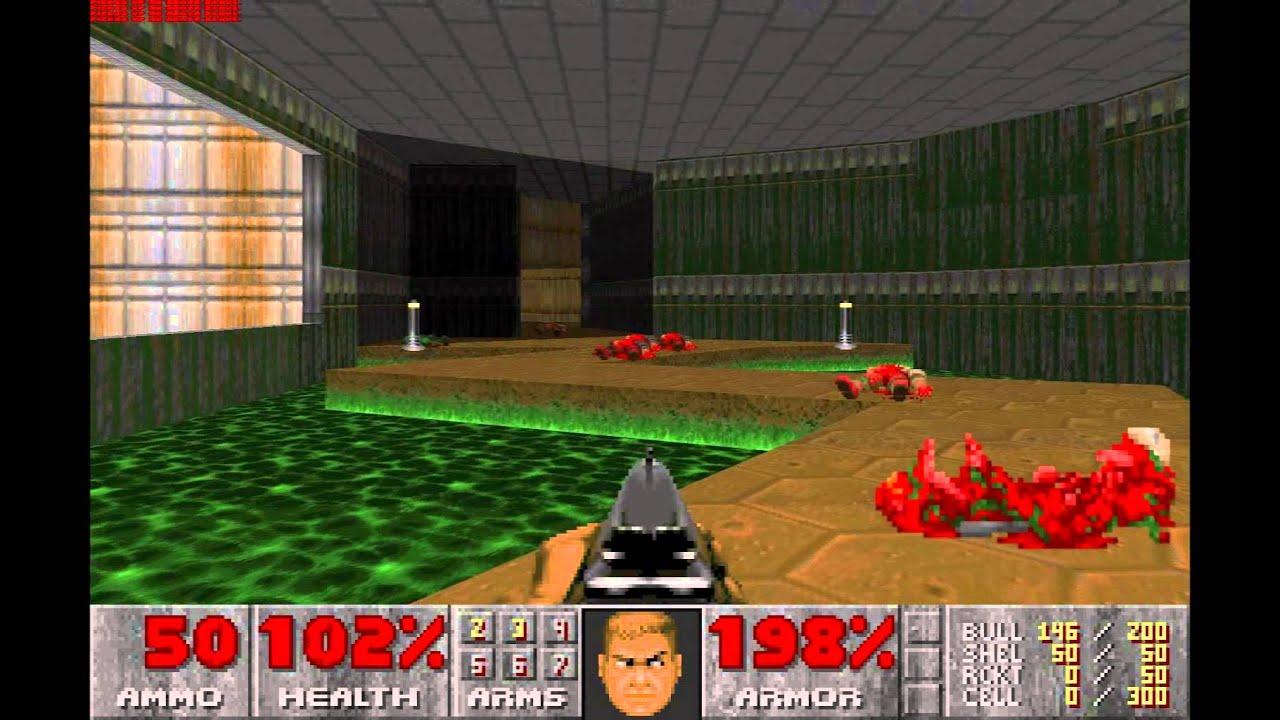 Childhood game nostalgia: Doom. PC vs PSX - YouTube