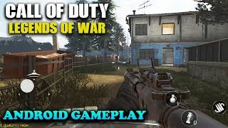 CALL OF DUTY LEGENDS OF WAR - ANDROID GAMEPLAY