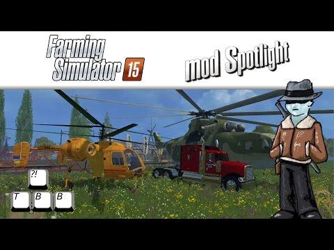 Farming Simulator 15 Mod Spotlight - Flying Away