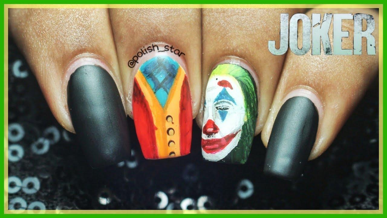 Joker Nail Art