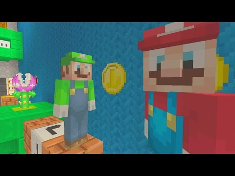 Minecraft Wii U - Murder Mystery - Super Mario Run - DOUBLE LIVES!
