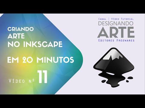 Criando Arte para Inkscape em 20 minutos