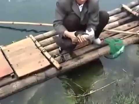ловля уток петлями видео
