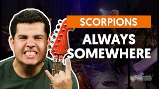 Always Somewhere Scorpions Aula De Guitarra