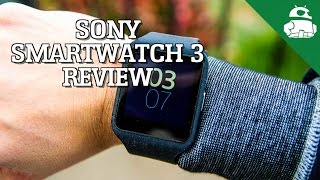 Sony Smartwatch 3 Review!
