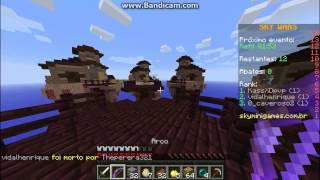 Minecraft skywars dupla #1 vitória de primeira