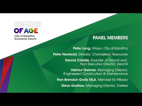 Coming of Age Forum Perth 6th November 2014 - Industry Service Providers Panel
