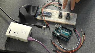 Raspberry Pi Tutorial 34 - Wireless Pi to Arduino Communication with NRF24L01+ Part 1