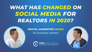 What has changed on social media for realtors in 2020?