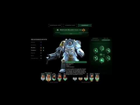 Space Hulk Ascension - Unit Customizer Mini Video