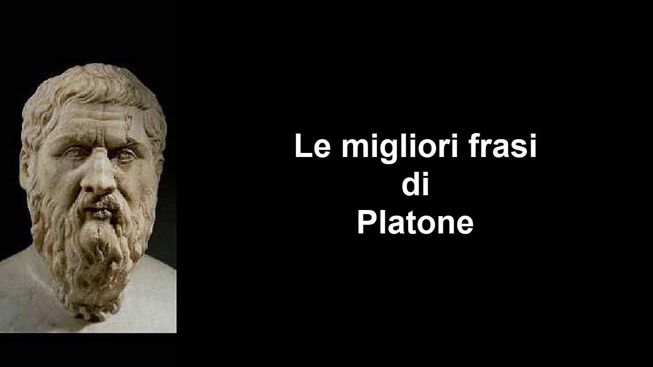 Frasi Celebri Di Platone Youtube