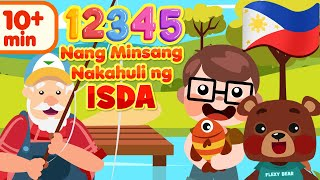 12345 Once I Caught A Fish Alive in Filipino | Mga Awiting Pambata
