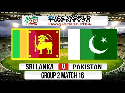 Cricket Game ICC T20 World Cup 2014 Super 8  Sri Lanka v Pakistan Group 2 Match 16