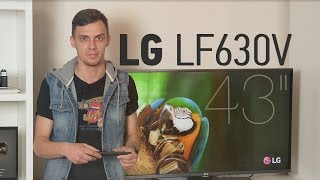 LG 43LF630V: обзор телевизора
