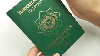 Türkmen 'zagran' pasportlarynyň möhleti 1 ýyla çenli kemeldiler