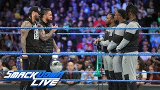 The Usos and The New Day renew their rivalry: SmackDown LIVE, Feb. 27, 2018 thumbnail