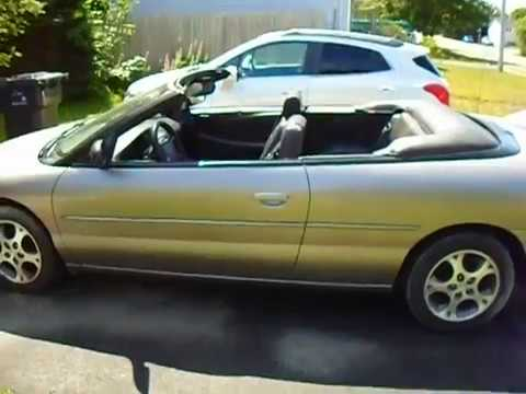 Chrysler sebring 1999 convertible