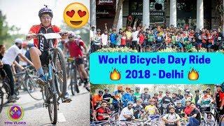 Wheelie Between 3000 Cyclists....😎😘